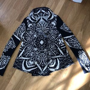Free People double breasted cardigan
